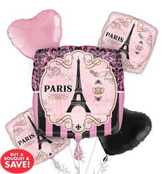 A Day in Paris Party Supplies - Party City