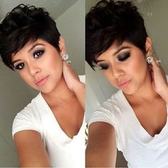 "1,954 Likes, 57 Comments - Short Hairstyles Pixie Cut (@nothingbutpixies) on Instagram: ""So preeettyy Tag her"""