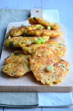 Maïskoekjes - corn cakes - mexican food - Healthy food