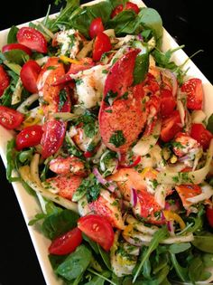Lobster Fennel Salad