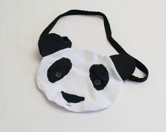 """Handtasche """"Piet Panda"""" von Stoff Schere Papier auf DaWanda.com"""