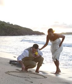 Letting The Kids Participate In A Wedding Poring Petals St Thomas