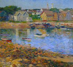 Charles Salis Kaelin - Gloucester Harbor,1920's