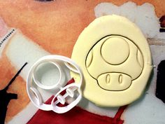 Toad Cookie Cutter great for cutting Bread Cheese by CookiePrints