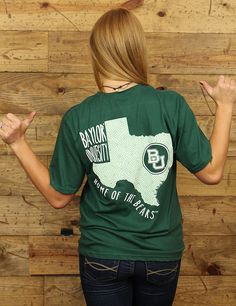 Baylor University: Home of the Bear...grab this comfortable and cute tee today!!