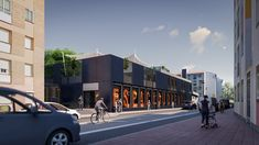 Street View, Architectural Firm, Town Hall, Norte, Space
