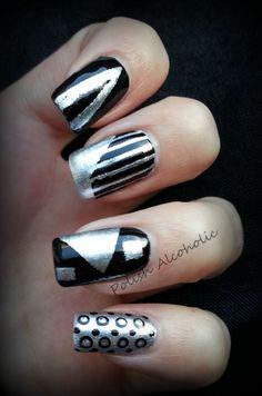 Black & silver  http://polishalcoholic.wordpress.com/