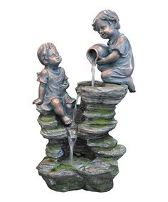 Another great find on #zulily! Children Playing Fountain by Kelkay #zulilyfinds