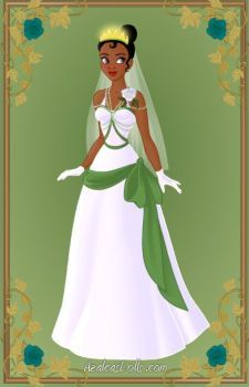 Tiana { Wedding Dress } by kawaiibrit
