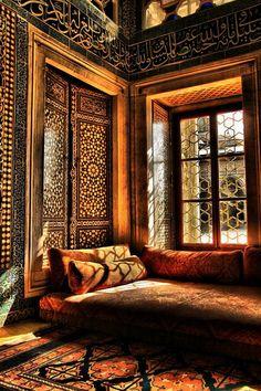 Topkapı Palace in Istanbul, Turkey.
