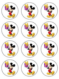 mickey-mouse-with-gift-edible-icing-cup-cake-toppers-2118-p.jpg (720×960)
