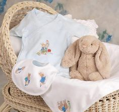 Basic Tips for Embroidering Baby Knits - machine embroidery ideas