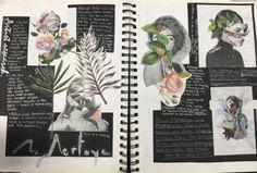 art gcse / art gcse - art gcse sketchbook - art gcse final piece - art gcse mindmap - art gcse 2020 - art gcse sketchbook layout - art gcse title page - art gcse ideas Textiles Sketchbook, Gcse Art Sketchbook, A Level Art Sketchbook Layout, Drawing Journal, Fashion Sketchbook, Art Journal Pages, Art Pages, Artist Journal, Art Journals