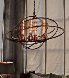 Steampunk Chandelier - would love to have something like this in my dining room.