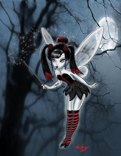 Gothic Tinkerbell