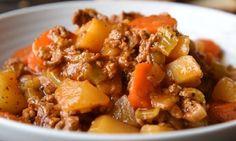 Recette : Stew à la mijoteuse.