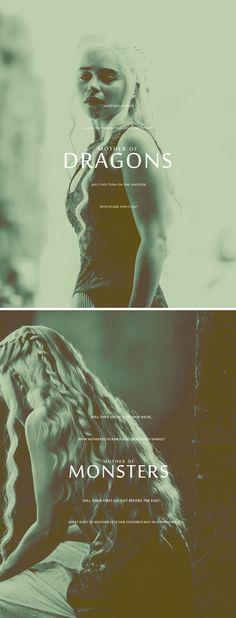 Daenerys Targaryen: Mother of Monsters