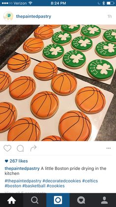 22 Ideas for basket ball birthday party celtics Ball Birthday Parties, Birthday Party For Teens, Birthday Diy, 10th Birthday, Birthday Basket, Basketball Cookies, Basketball Party, Basketball Birthday, Celtics Basketball