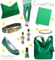 Emerald favorites!