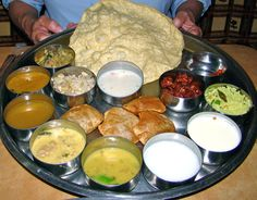 thalis by indian region