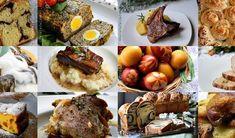 IDEI DE MENIU PENTRU MASA DE PASTI - Rețete Fel de Fel Romanian Food, Baked Potato, Muffin, Meat, Baking, Breakfast, Ethnic Recipes, Album, Salads