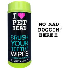 Many pet parents look for that perfect dog mouth cleanser owing to their fastidiousness about their furry friend's dental hygiene and keeping possible ailments and problems successfully at bay. Grab these amazing teeth wipes for your super amazing dog here: http://www.headsupfortails.com/dog-grooming/dog-dental-solutions/pethead-teeth-wipes.html #dogs #healthygums #dogteeth #teethwipes #healthydogs #headsupfortails #huft