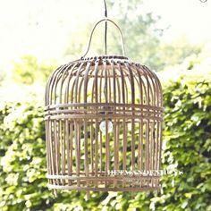 Rieten hippe hanglamp 'Bamboe' | HetMandenhuys.nl
