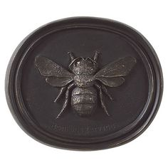 Ballard Designs Bee Plaque - comes in a set of 3 Entomology Plaques along with butterfly and dragonfly
