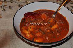 Romanian Food, Gnocchi, Thai Red Curry, Ethnic Recipes
