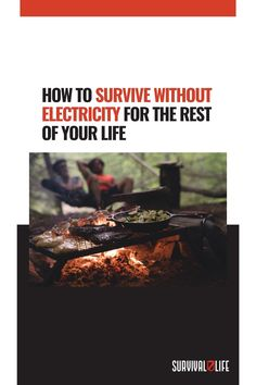 """If you're planning on going completely """"off the grid,"""" knowing how to survive without electricity is definitely a must-learn skill. Do you have other tips on how to survive without electricity? Share them with us in the comment section below! #SurviveWithoutElectricity #LifeWithoutElectricity #OffTheGrid Survival Life, Survival Prepping, Emergency Preparedness, Survival Skills, Life Without Electricity, Off The Grid, How To Plan, Learning, Big Move"""