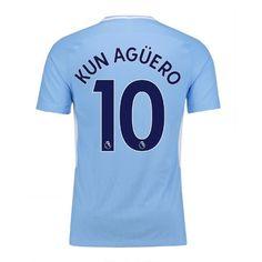 Man City Home kit 17/18 KUN AGUERO