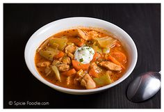 Food Photography Tutorials; How To Style Stew; Food Styling; photography tutorials; Spicie Foodie; Spicie Foodie Photo Tutorials, blogger photography; food bloggers photography; stew; chicken stew; Czech Stew