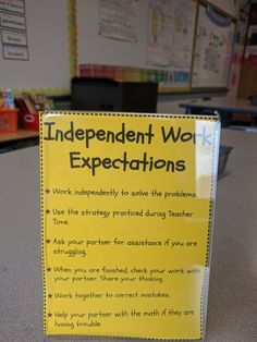 Math Workshop: Expectations for Independent Work MathWorkshop 362891682474087954 High School Classroom, Math Classroom, Classroom Ideas, 6th Grade Reading, Third Grade Math, Math Stations, Math Centers, Teacher Resources, Teacher Tips
