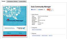 Guía Community Manager, ebook gratuito para gestión de redes sociales