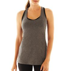Long Racerback Tank Top by Xersion - Found on HeartThis.com @HeartThis