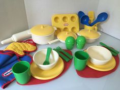 little tikes play kitchen. this is the kitchen i had when i was
