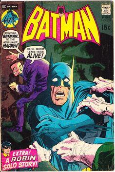 Batman 229 DC Comics Neal Adams Robin Boy Wonder Bronze Age 1971 VG/FN by LifeofComics #comicbook