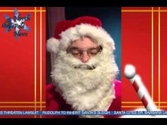 Breaking News: Santa Admits He Is Visually Impaired Becomes SpokesPerson for The Blind Judo Foundation.