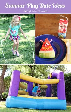 Summer Play Date Ideas - Fun Outdoor Kid Activities