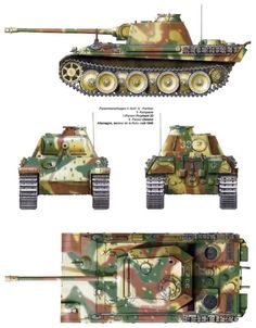 German Panther V Tank
