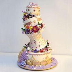 Ron Ben-Israel makes some of the most amazing cakes ever Gorgeous Cakes, Pretty Cakes, Amazing Cakes, Wedding Cake Photos, Wedding Cakes, Wedding Gowns, Cupcakes, Cupcake Cakes, Food Network