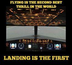 Where will your thrill-seeking take you this weekend? #aviationhumor #thrillseeking #landing #pilothumor #flyday #flyingisahabit #aviationpilotquotes