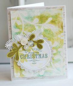 Merry Little Christmas Card by Betsy Veldman for Papertrey Ink (September 2012)