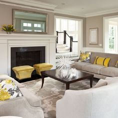 Ideas for Living Room Colors: Paint palettes and color schemes (image by Martha O'Hara Interiors)