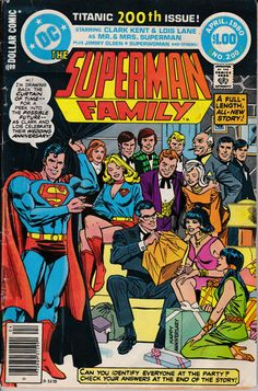Superman Family 200  March 1980 Issue  DC Comics  by ViewObscura