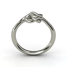 Lover's Knot Promise Ring - love the simplicity of this!