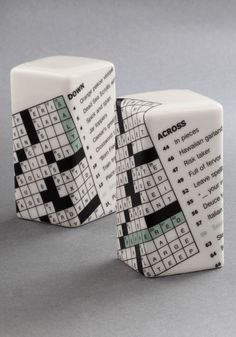 New York Timeless Shaker Set. These salt and pepper shakers will fit perfectly into your clever life! #multi #modcloth