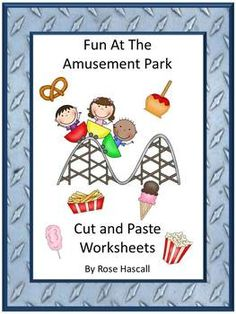 Amusement Parks can be fun for everyone but children seem to enjoy them the most. With this Fun At The Amusement Park Cut and Paste Worksheet set, students can enjoy the fun of the rides and the snacks as they practice their counting, letter matching, color matching and sorting skills. And at the same time, they perfecting their cutting and paste skills. This set consists of 26 pages