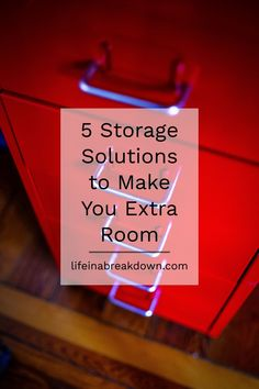 5 Storage Solutions to Make You Extra Room Are you running out of room in your home? Wanting ideas to keep things safe? Then check out this post on 5 Storage Solutions to Make You Extra Room. Extra Storage Space, Under Bed Storage, Storage Spaces, Organization Hacks, Organising Ideas, Organizing, Shelving Solutions, Vacuum Storage Bags, Finding Yourself