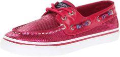 Sperry Top-Sider Bahama Boat Shoe (Little Kid/Big Kid),Hot Pink,12.5 M US Little Kid